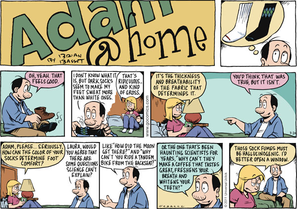 Adam@Home Comic Strip for March 20, 2011