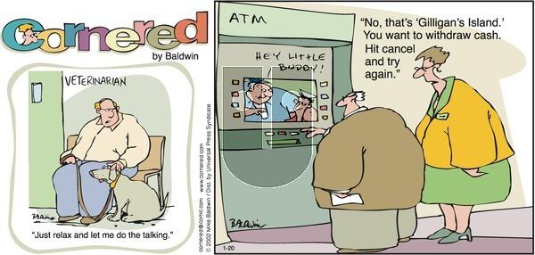 Cornered on Sunday January 20, 2002 Comic Strip