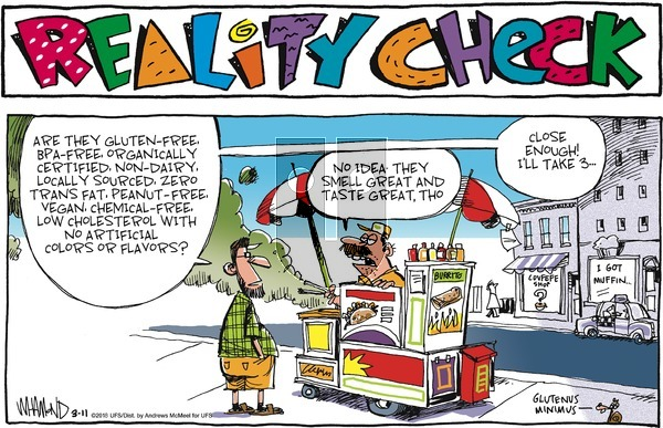 Reality Check on Sunday March 11, 2018 Comic Strip