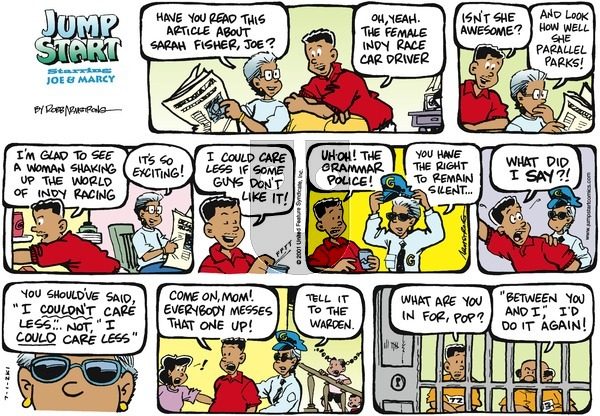 JumpStart - Sunday July 1, 2001 Comic Strip