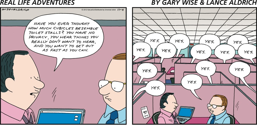 Real Life Adventures Comic Strip for November 04, 2012