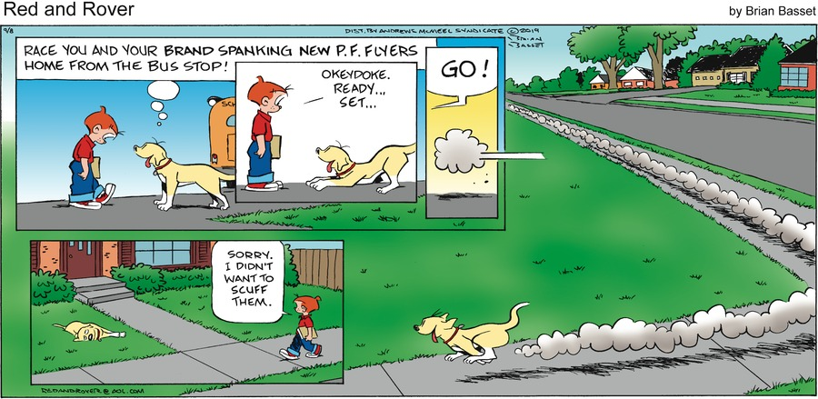 Red and Rover Comic Strip for September 08, 2019
