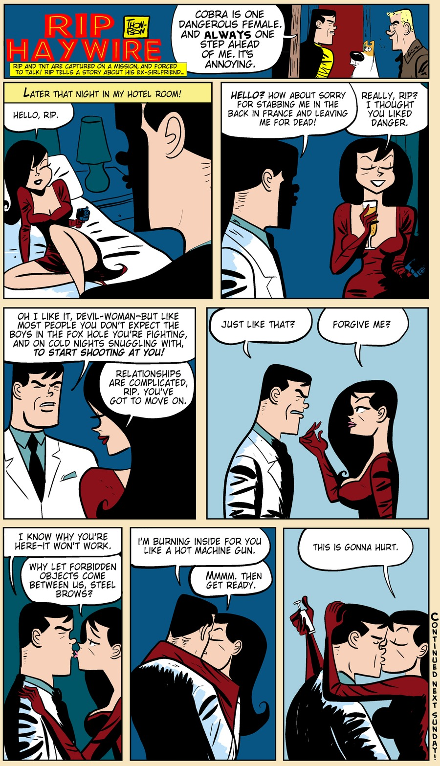 Rip Haywire Comic Strip for July 07, 2013