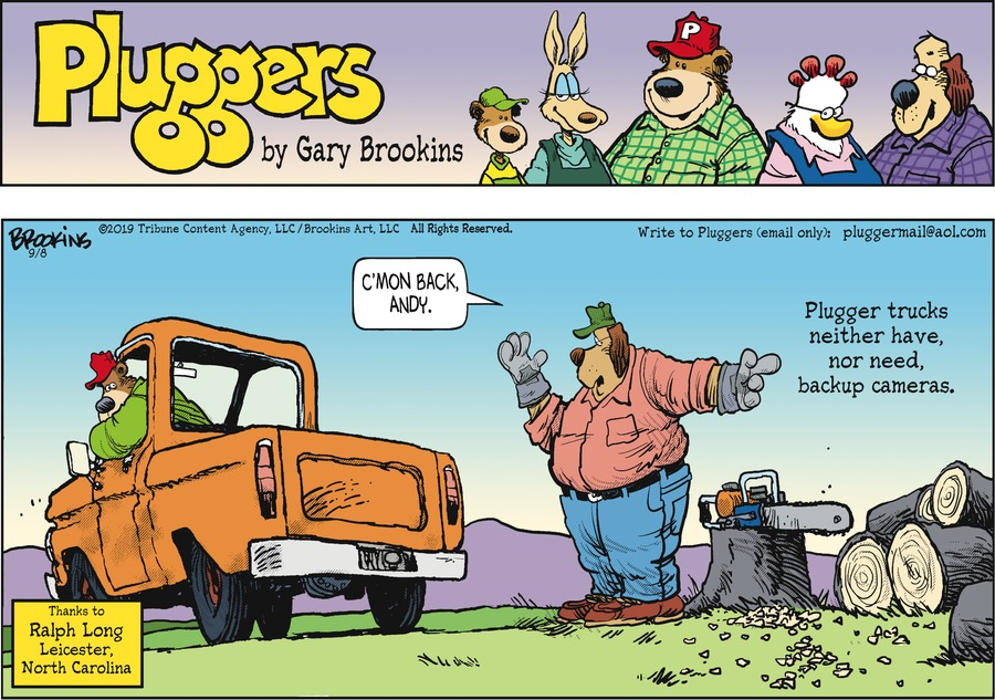 Pluggers by Gary Brookins for September 08, 2019