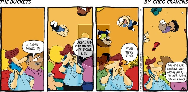 The Buckets on Sunday July 12, 2015 Comic Strip
