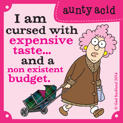 Aunty Acid Comic Strip for May 18, 2014