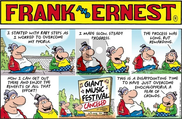 Frank and Ernest - Sunday May 31, 2020 Comic Strip