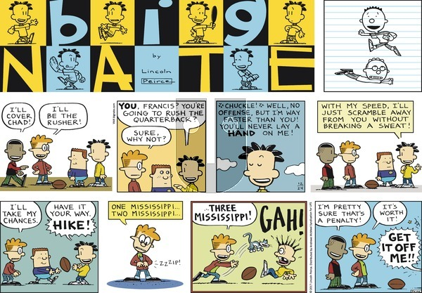 Big Nate on Sunday December 24, 2017 Comic Strip