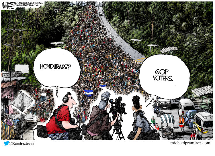 Michael Ramirez Comic Strip for October 26, 2018