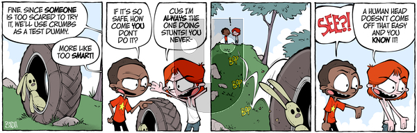 Crabgrass on Wednesday October 9, 2019 Comic Strip