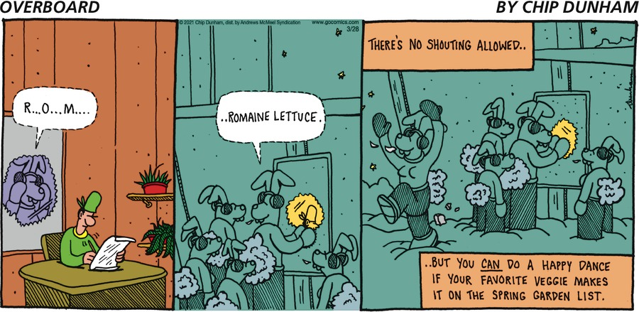 Overboard Comic Strip for March 28, 2021