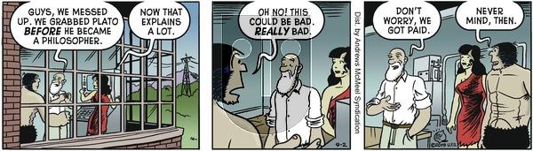 Alley Oop - Monday September 2, 2019 Comic Strip