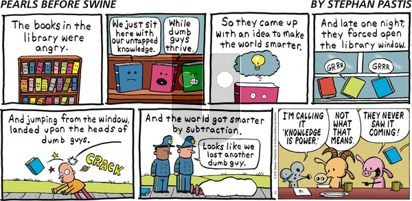 Pearls Before Swine on Sunday May 5, 2019 Comic Strip