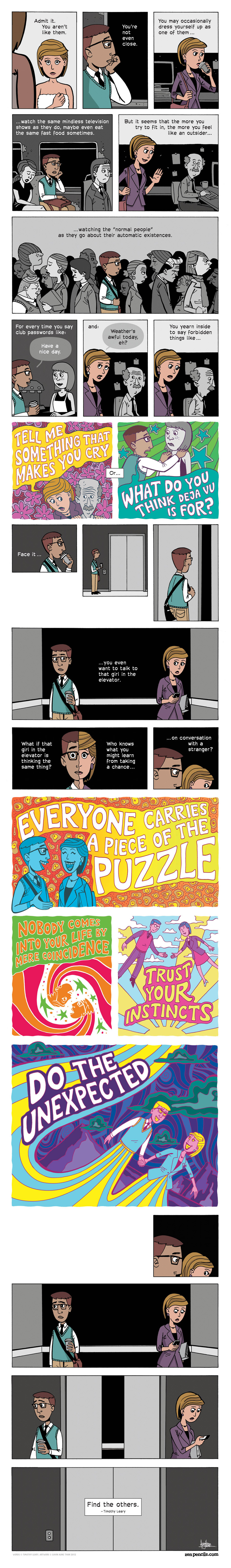 Zen Pencils for Feb 24, 2014 Comic Strip
