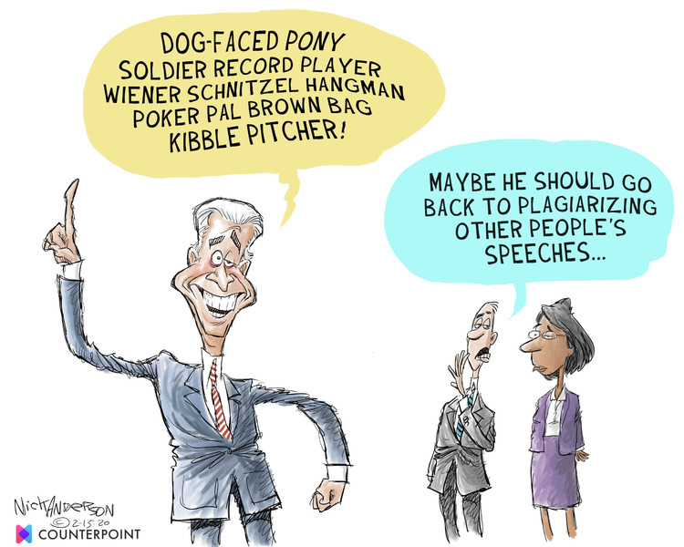 Nick Anderson Comic Strip for February 15, 2020