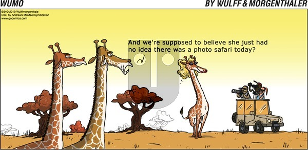 WuMo on Sunday June 9, 2019 Comic Strip