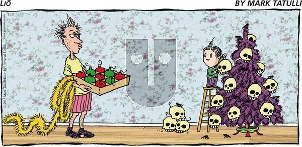Lio on Sunday December 13, 2015 Comic Strip