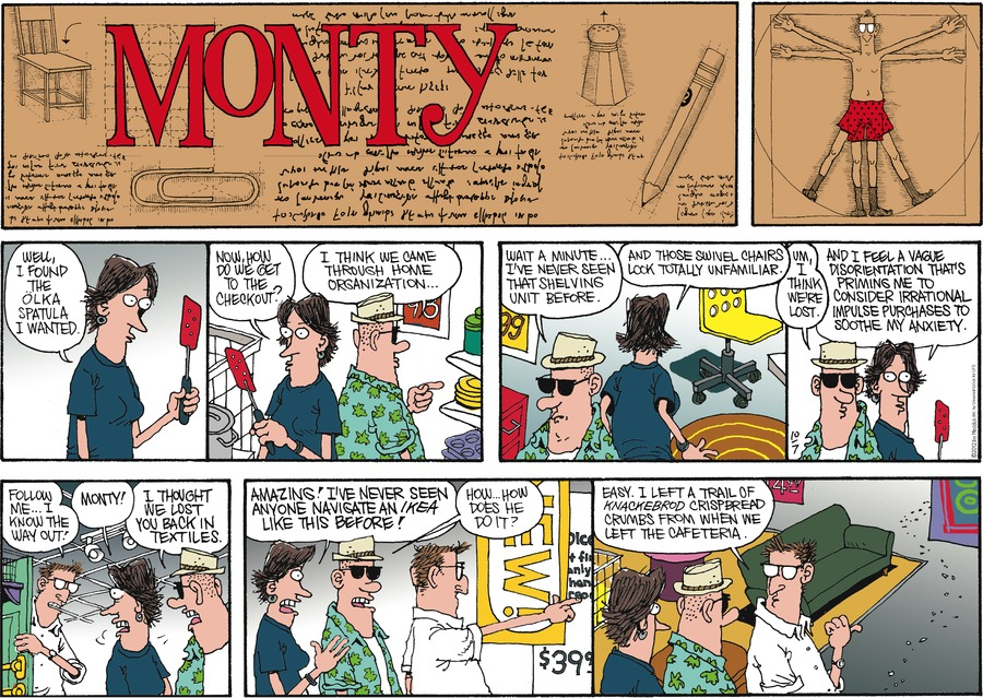 Monty Comic Strip for October 07, 2012