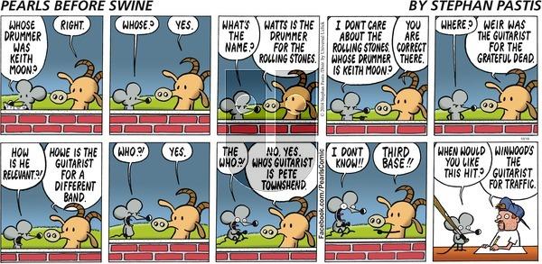 Pearls Before Swine on Sunday October 19, 2014 Comic Strip
