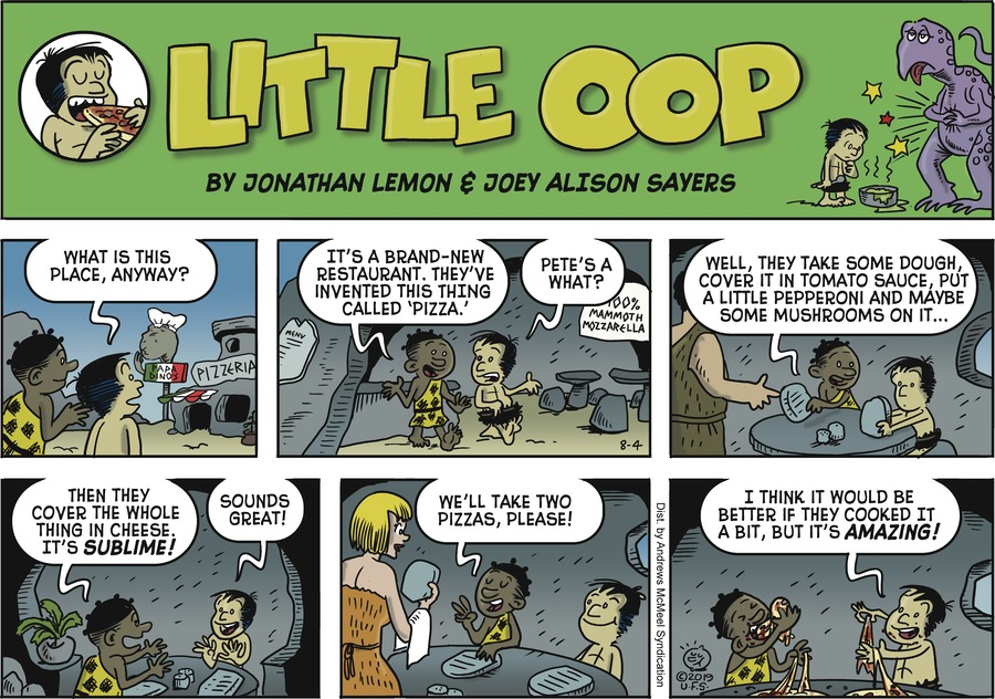 Alley Oop Comic Strip for August 04, 2019