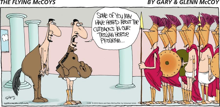 The Flying McCoys Comic Strip for November 28, 2010