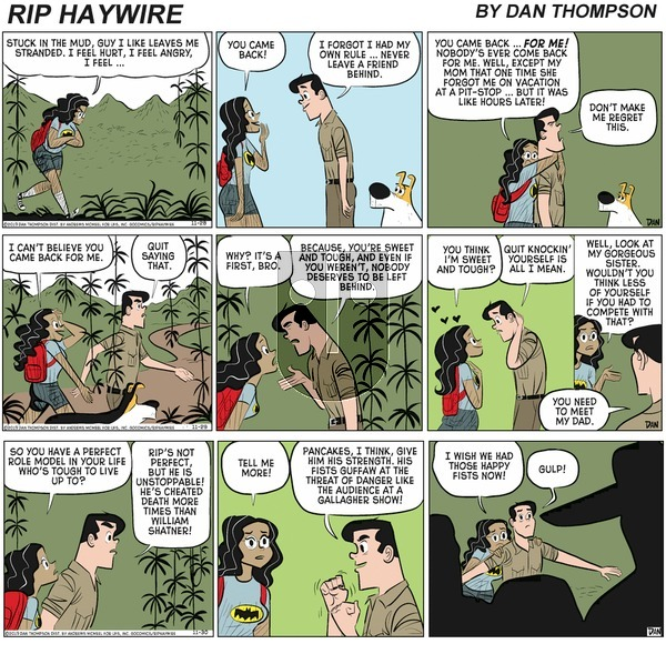 Rip Haywire on Sunday May 9, 2021 Comic Strip