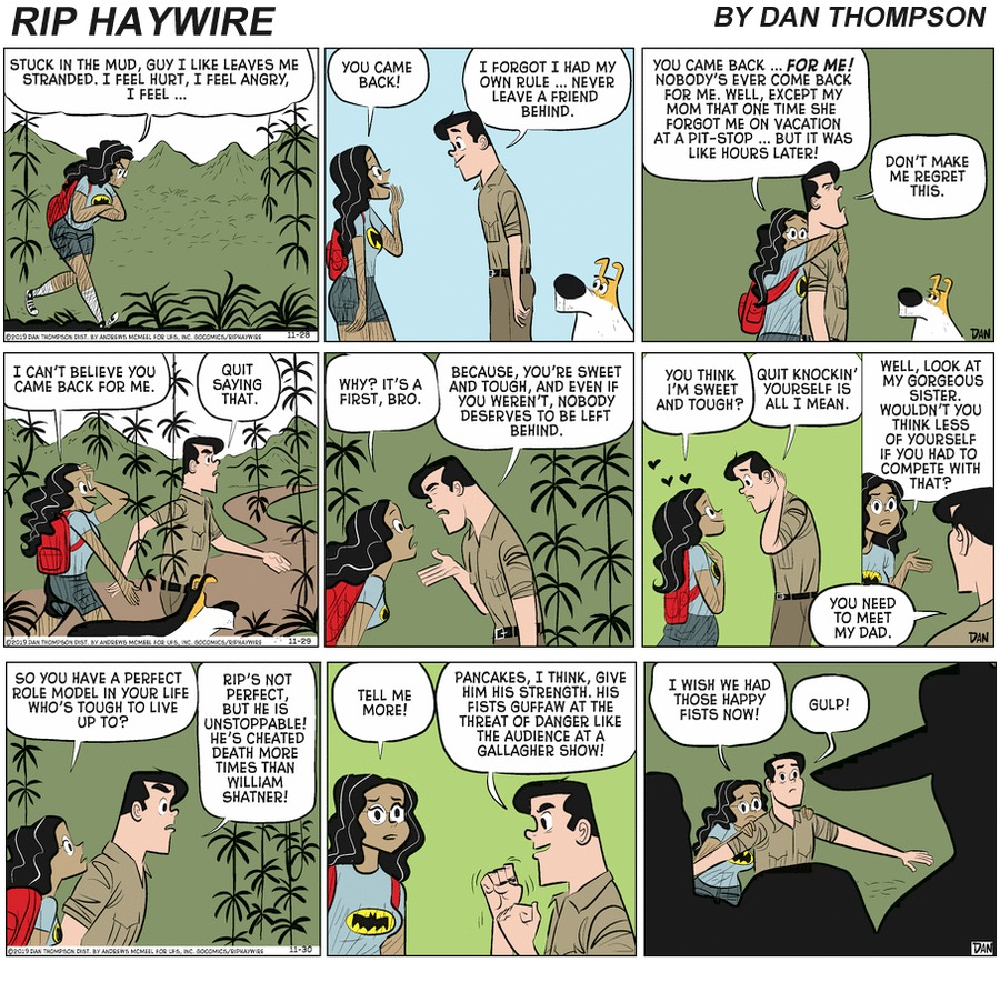 Rip Haywire by Dan Thompson on Sun, 09 May 2021