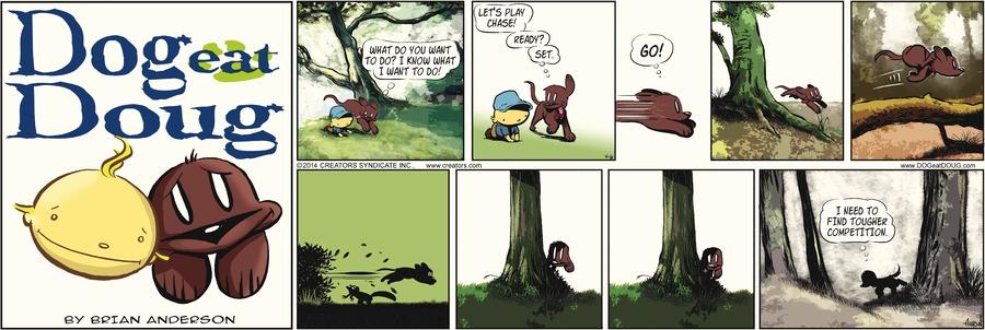 Dog Eat Doug for Apr 6, 2014 Comic Strip