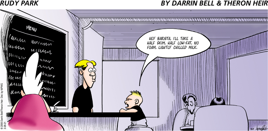 Rudy Park Comic Strip for February 28, 2021