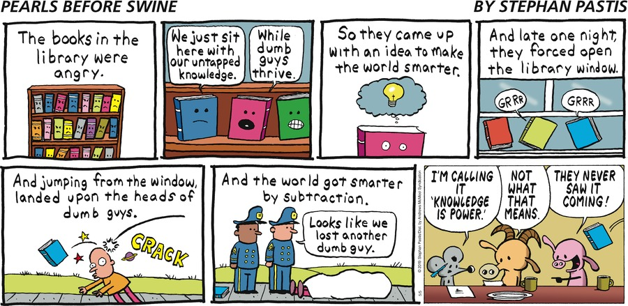 Pearls Before Swine Comic Strip for May 05, 2019