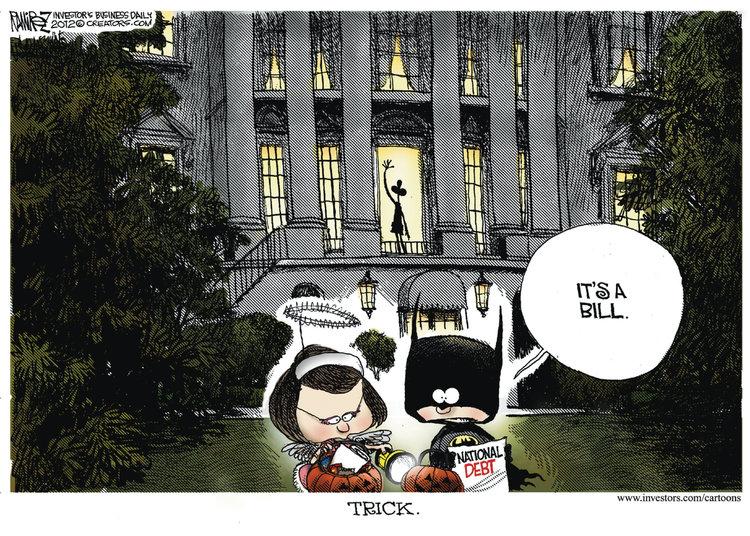 Michael Ramirez Comic Strip for October 31, 2012
