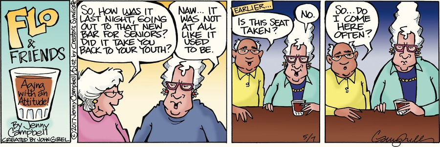 Flo and Friends Comic Strip for May 07, 2017