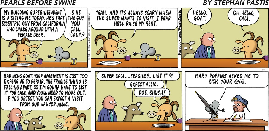 Pearls Before Swine Comic Strip for August 04, 2013