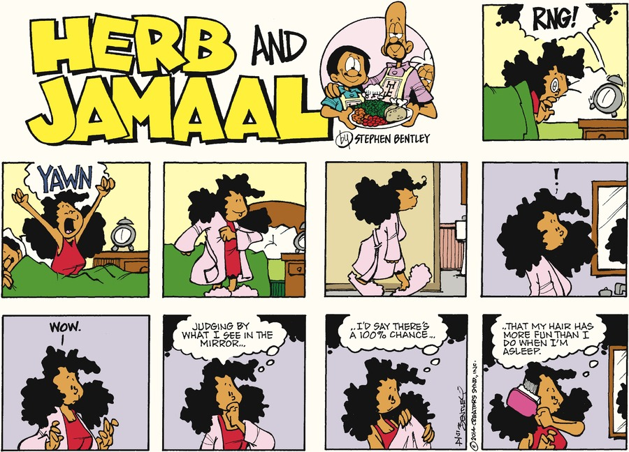 Herb and Jamaal Comic Strip for May 04, 2014