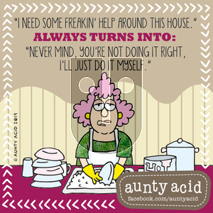 Aunty Acid on Saturday September 28, 2019 Comic Strip