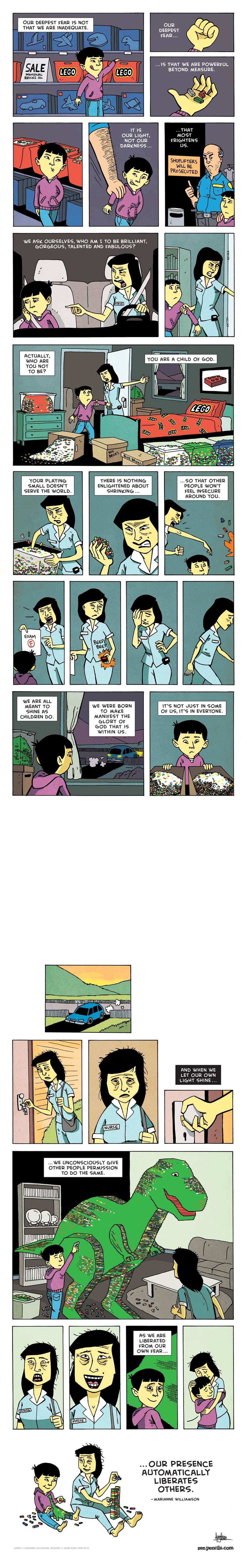 Zen Pencils Comic Strip for October 05, 2015