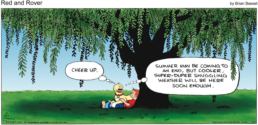 Red and Rover for Sep 3, 2017 Comic Strip