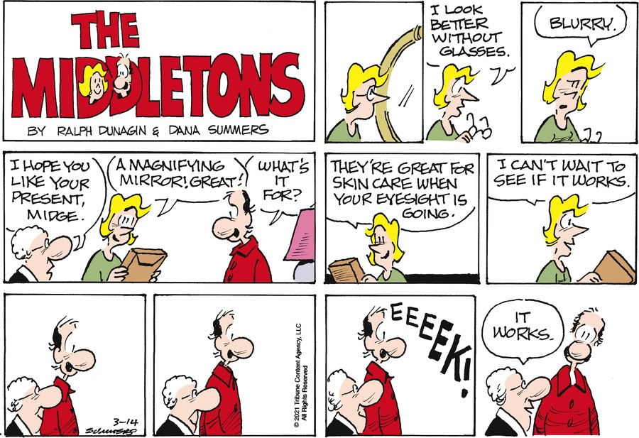 The Middletons Comic Strip for March 14, 2021