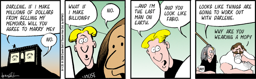 Rudy Park Comic Strip for August 01, 2020