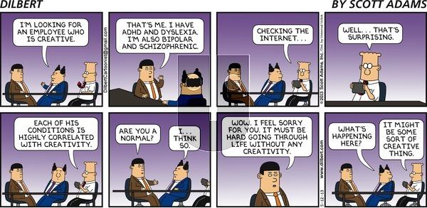 Dilbert - Sunday May 12, 2013 Comic Strip