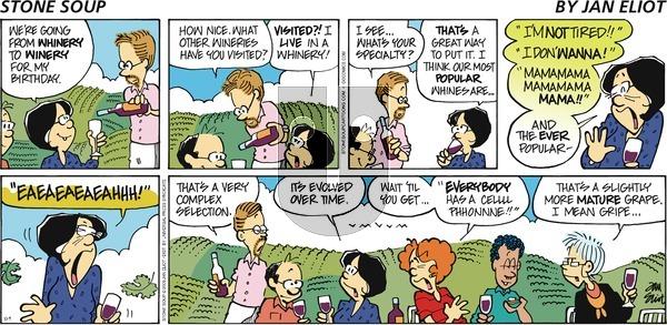 Stone Soup on Sunday October 4, 2009 Comic Strip
