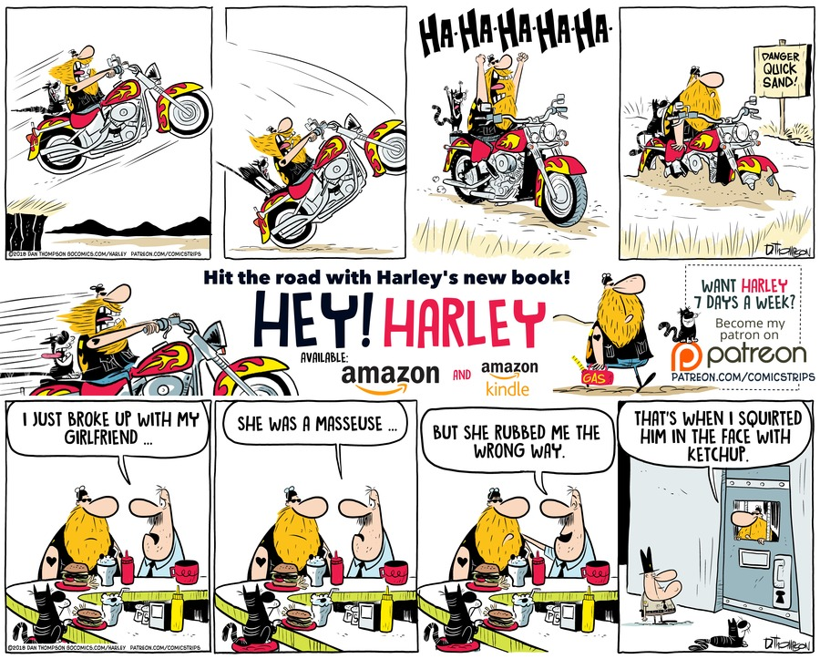 Harley Comic Strip for September 23, 2018