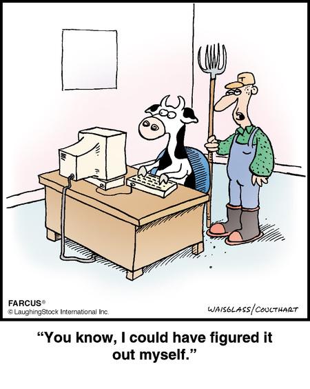 Farcus for Feb 6, 2013 Comic Strip
