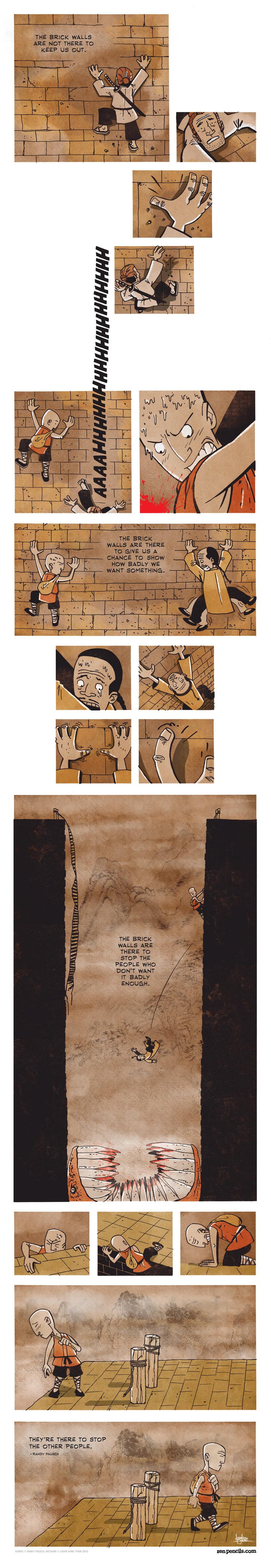 Zen Pencils for Jan 10, 2014 Comic Strip