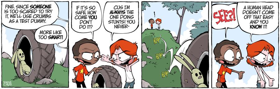 Crabgrass Comic Strip for October 09, 2019