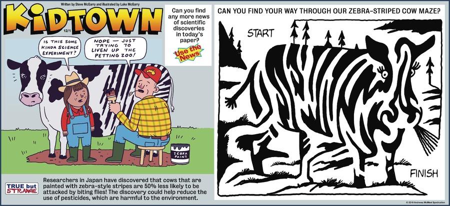 KidTown Comic Strip for December 01, 2019