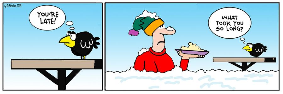 Crumb Comic Strip for December 18, 2015