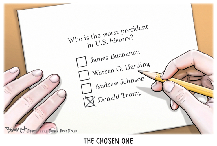 Clay Bennett Comic Strip for August 23, 2019