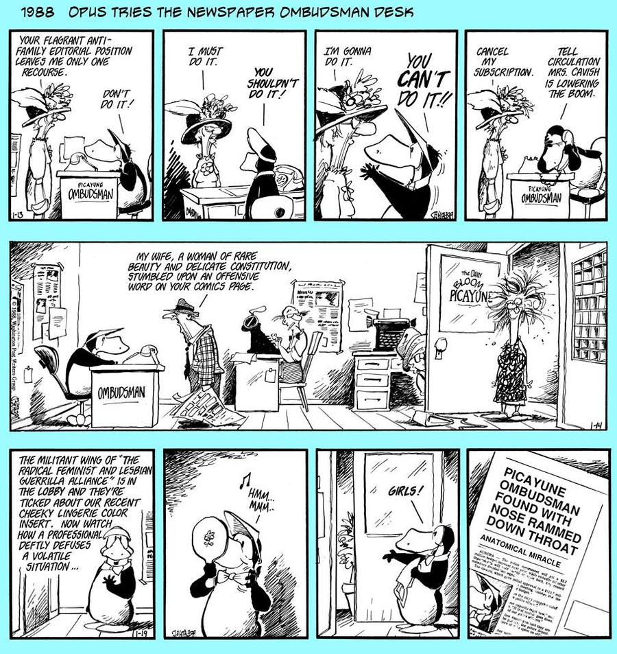 Bloom County 2019 Comic Strip for February 01, 2016