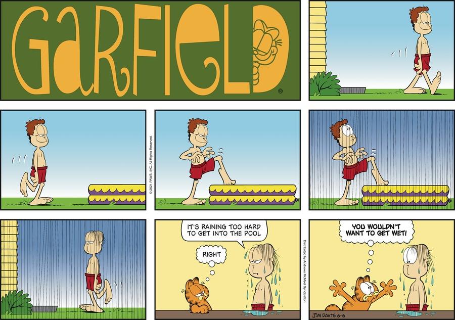 Garfield by Jim Davis on Sun, 06 Jun 2021